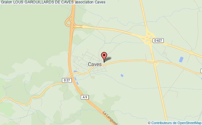 plan association Lous Garouillards De Caves