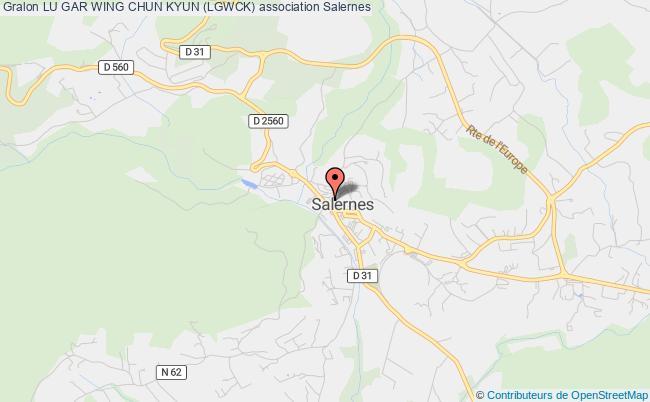 plan association Lu Gar Wing Chun Kyun