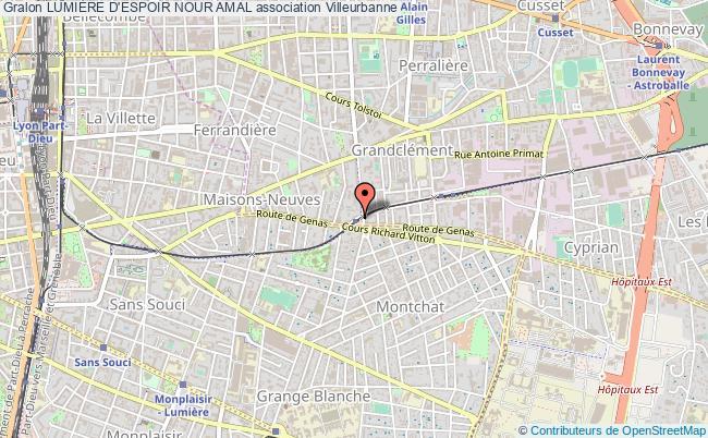 plan association LumiÈre D'espoir Nour Amal