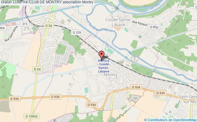 plan association Lumpini-club De Montry Montry