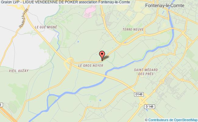 plan association Lvp - Ligue Vendeenne De Poker Fontenay-le-Comte