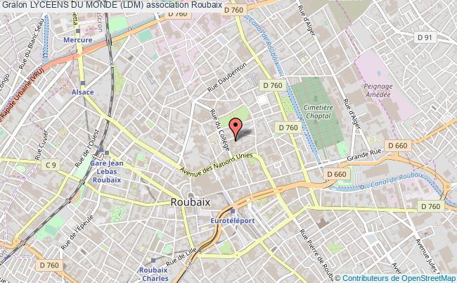 plan association Lyceens Du Monde (ldm)