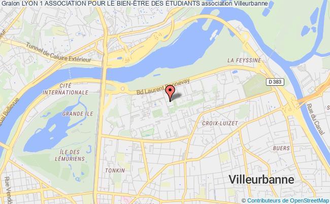 plan association Lyon 1 Association Pour Le Bien-Être Des Étudiants