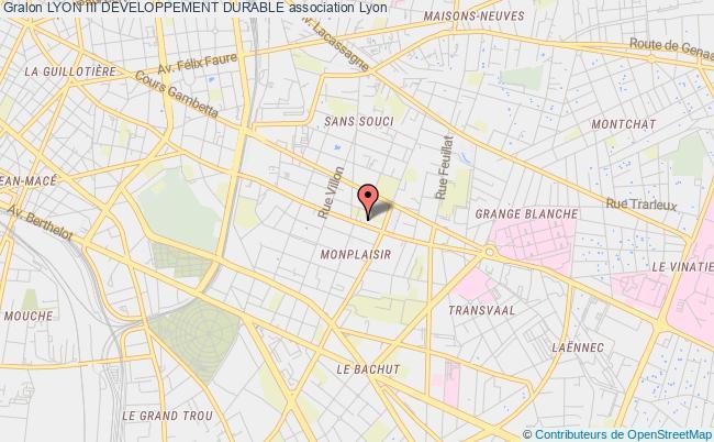 plan association Lyon Iii Developpement Durable