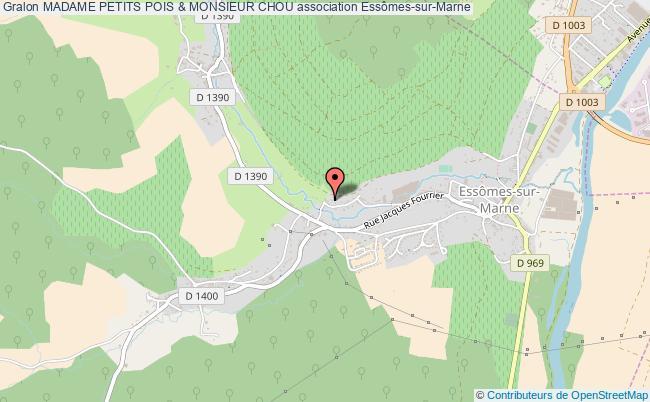 plan association Madame Petits Pois & Monsieur Chou
