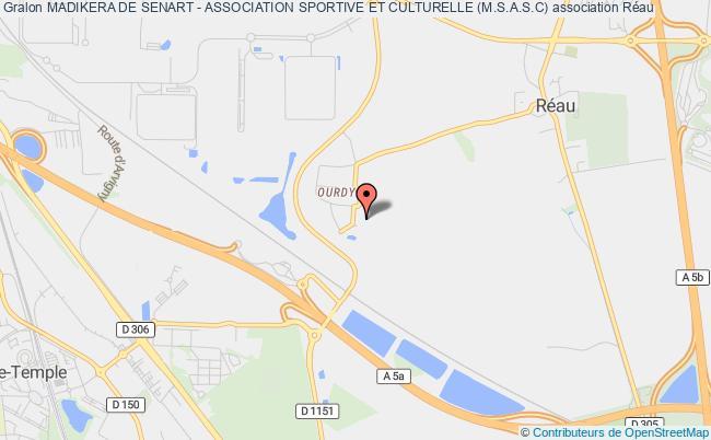 plan association Madikera De Senart - Association Sportive Et Culturelle (m.s.a.s.c)