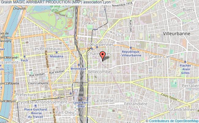 plan association Magic Arribart Production (map)