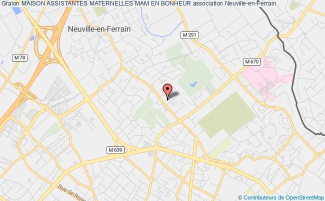 plan association Maison Assistantes Maternelles Mam En Bonheur Neuville-en-Ferrain