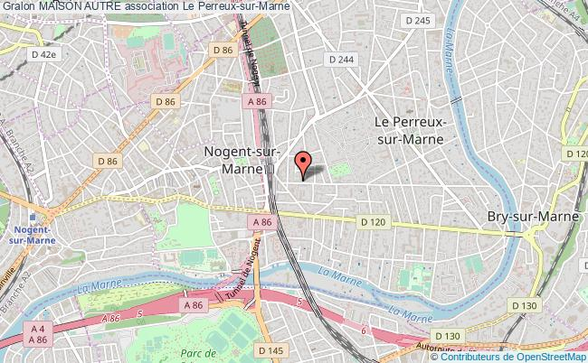 plan association Maison Autre Le Perreux-sur-Marne