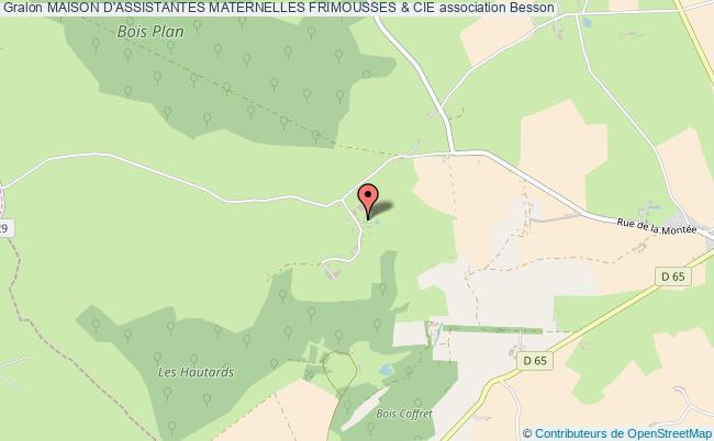 plan association Maison D'assistantes Maternelles Frimousses & Cie