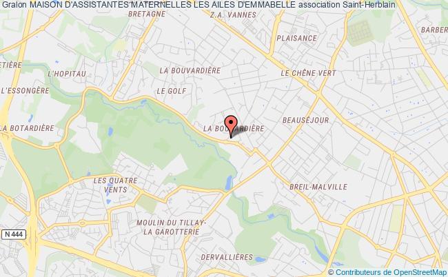 plan association Maison D'assistantes Maternelles Les Ailes D'emmabelle