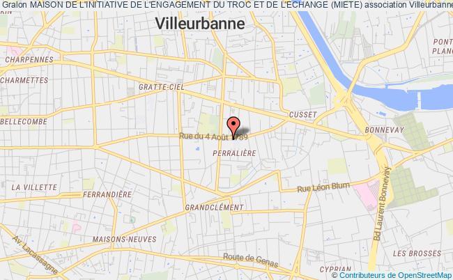 plan association Maison De L'initiative De L'engagement Du Troc Et De L'echange (miete)