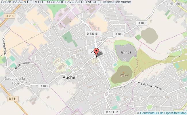 plan association Maison De La Cite Scolaire Lavoisier D'auchel