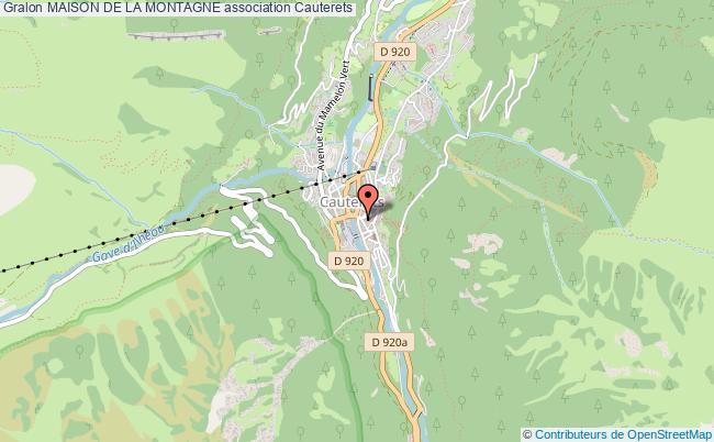 plan association Maison De La Montagne