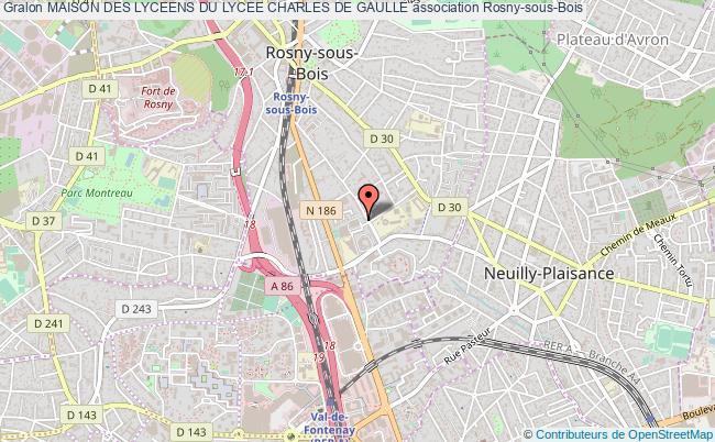 plan association Maison Des Lyceens Du Lycee Charles De Gaulle