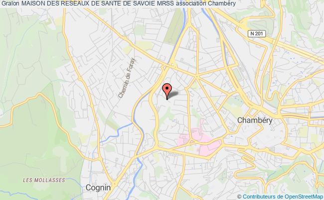 plan association Maison Des Reseaux De Sante De Savoie Mrss