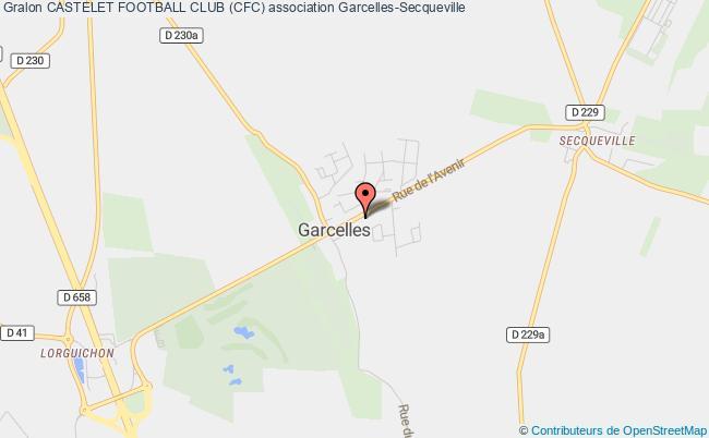 plan association Maison Des Sports Et Loisirs Garcelles Secqueville