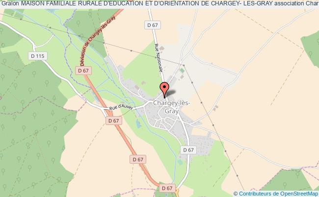 plan association Maison Familiale Rurale D'education Et D'orientation De Chargey- Les-gray Chargey-lès-Gray
