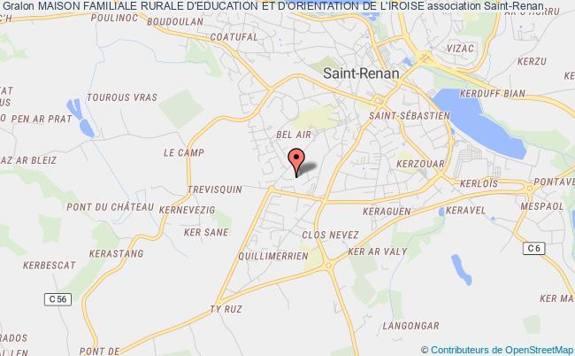 plan association Maison Familiale Rurale D'education Et D'orientation De L'iroise