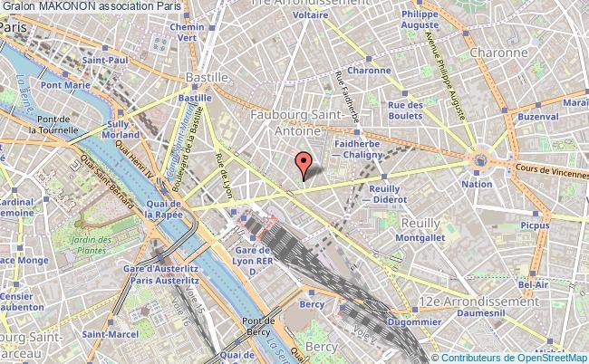 plan association Makonon Paris 12e