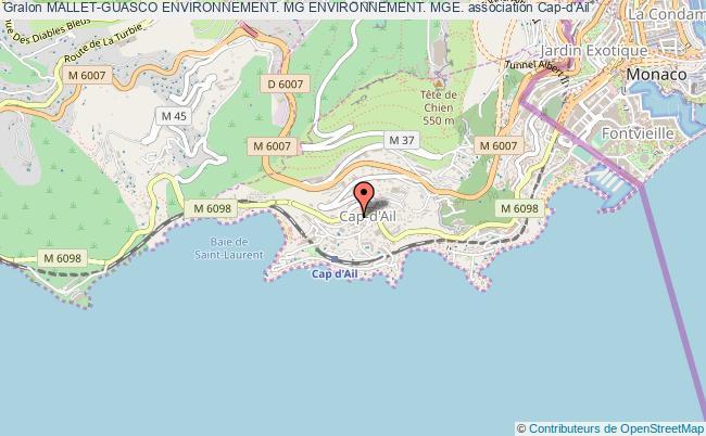 plan association Mallet-guasco Environnement. Mg Environnement. Mge.