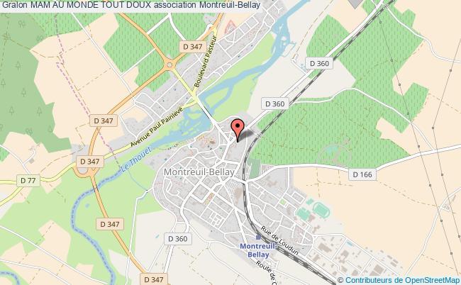 plan association Mam Au Monde Tout Doux Montreuil-Bellay