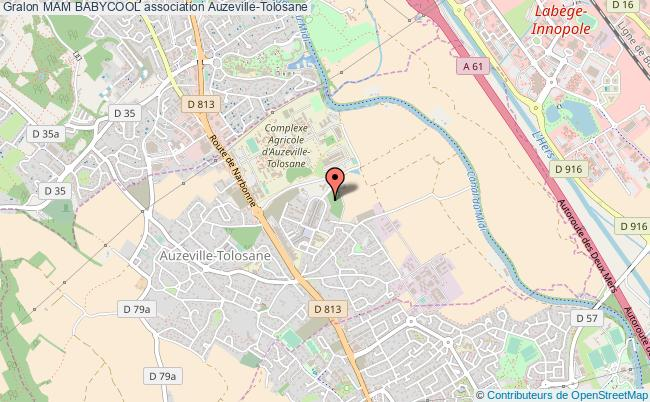 plan association Mam Babycool Auzeville-Tolosane