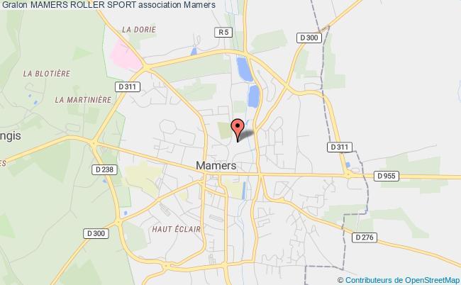 plan association Mamers Roller Sport