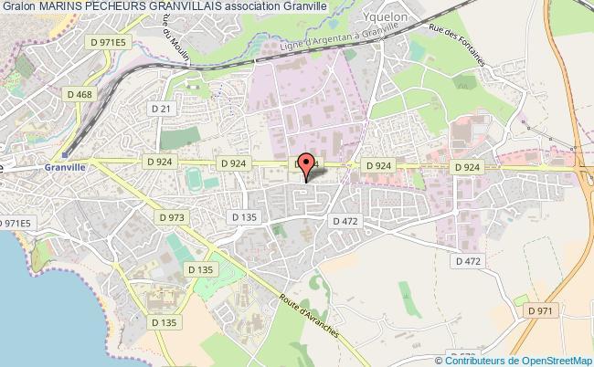 plan association Marins Pecheurs Granvillais Granville