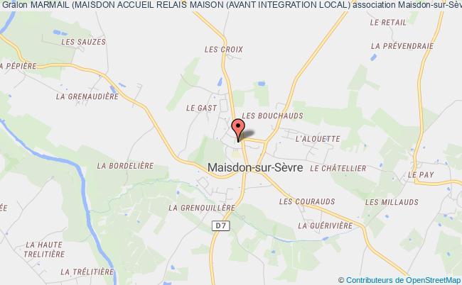 plan association Marmail (maisdon Accueil Relais Maison (avant Integration Local) Maisdon-sur-Sèvre