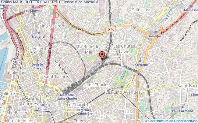 plan association Marseille Tv Fraternite