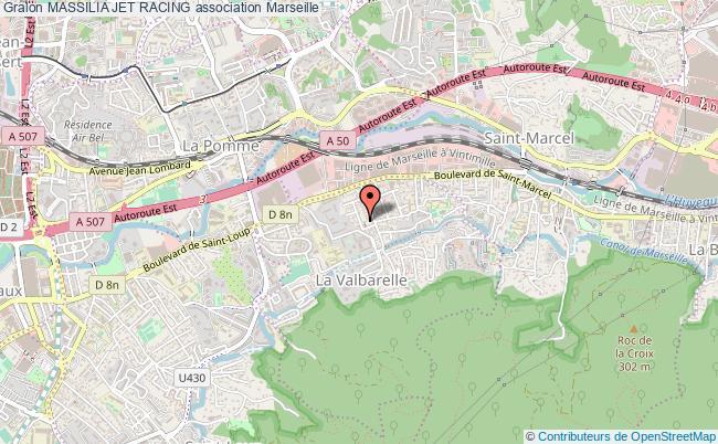 plan association Massilia Jet Racing
