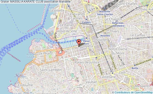 plan association Massilia Karate Club