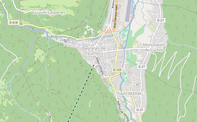plan association Maxi'mÔmes Bagnères-de-Luchon