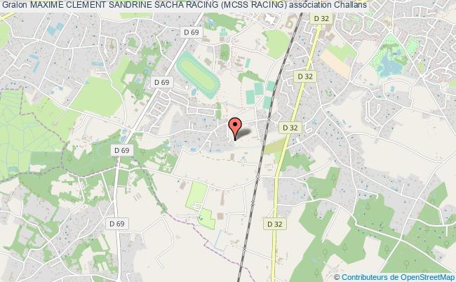plan association Maxime Clement Sandrine Sacha Racing (mcss Racing) Challans