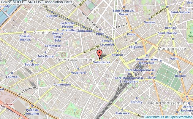 plan association Mbo Be And Live Paris