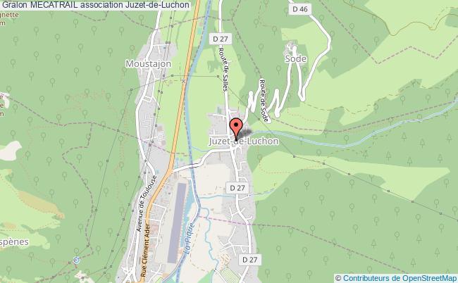 plan association Mecatrail Juzet-de-Luchon