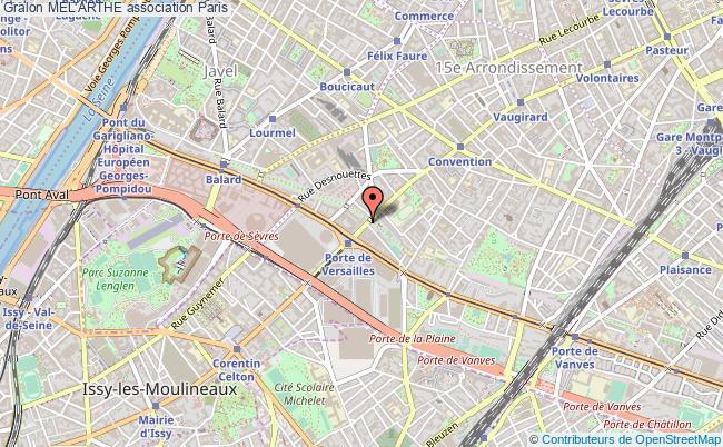 plan association Mel'arthe Paris
