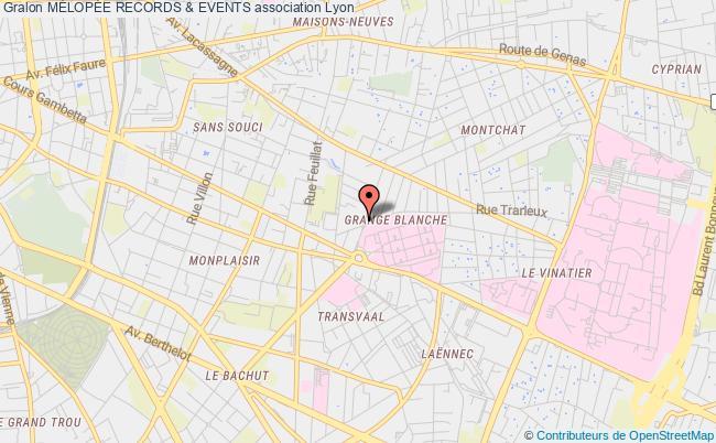 plan association MÉlopÉe Records & Events