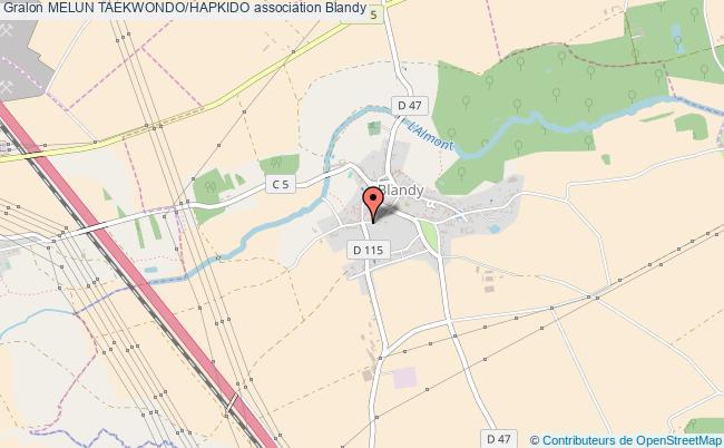 plan association Melun Taekwondo/hapkido Blandy