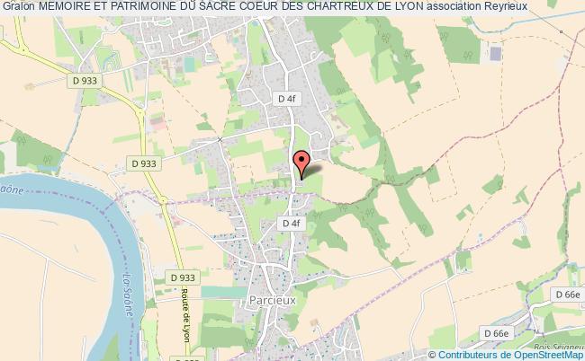 plan association Memoire Et Patrimoine Du Sacre Coeur Des Chartreux De Lyon Reyrieux