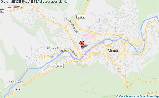 plan association Mende Rallye Team