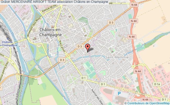plan association Mercenaire Airsoft Team