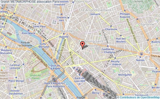 plan association Metamorphose Paris