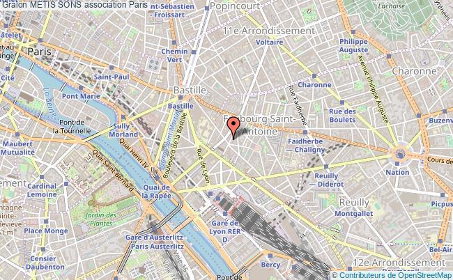 plan association Metis Sons Paris