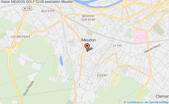 plan association Meudon Golf Club