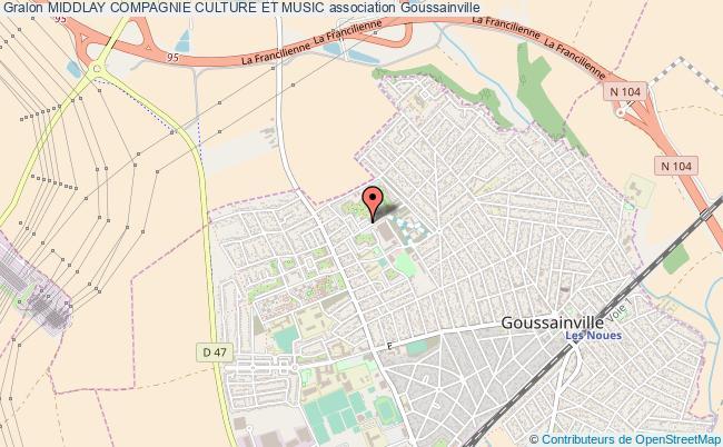 plan association Middlay Compagnie Culture Et Music Goussainville