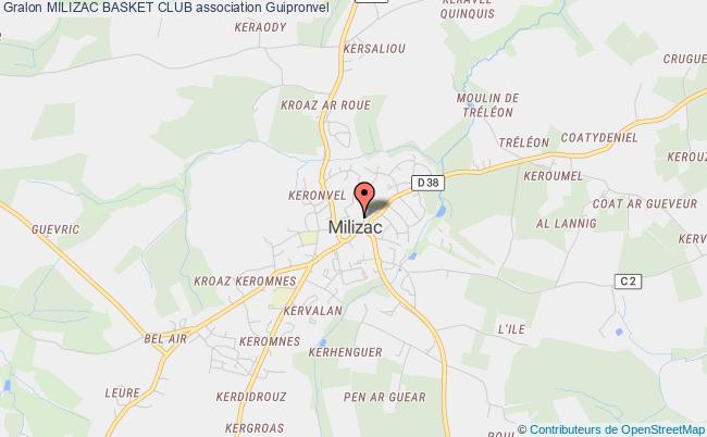 plan association Milizac Basket Club