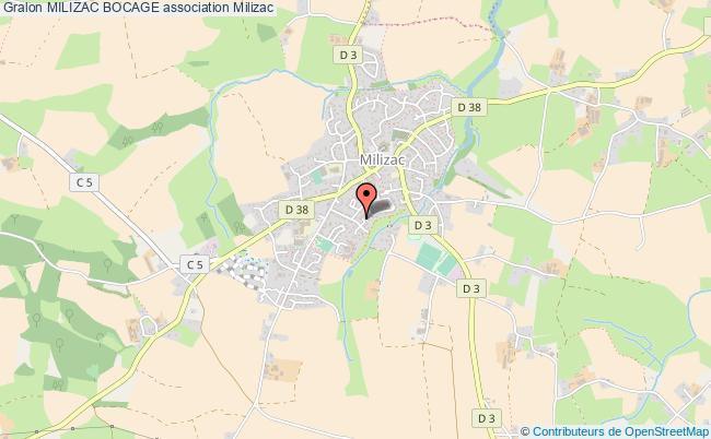 plan association Milizac Bocage