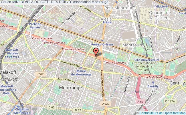 plan association Mini Blabla Du Bout Des Doigts Montrouge